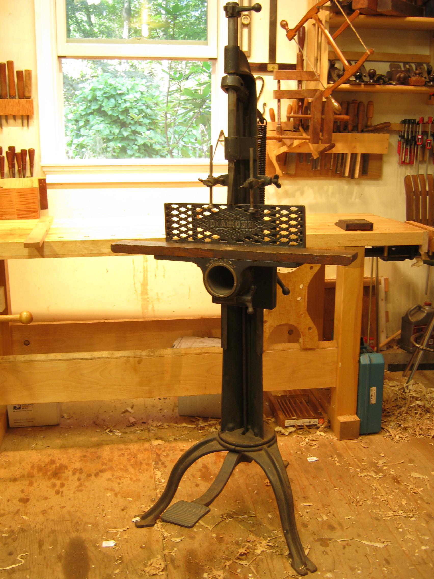 The Diamond Foot Power Mortiser Hyperkitten Tool